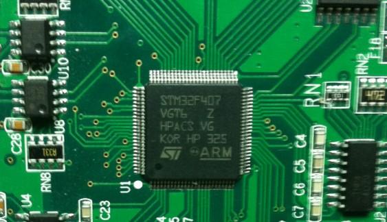 STM32F407芯片解密图片
