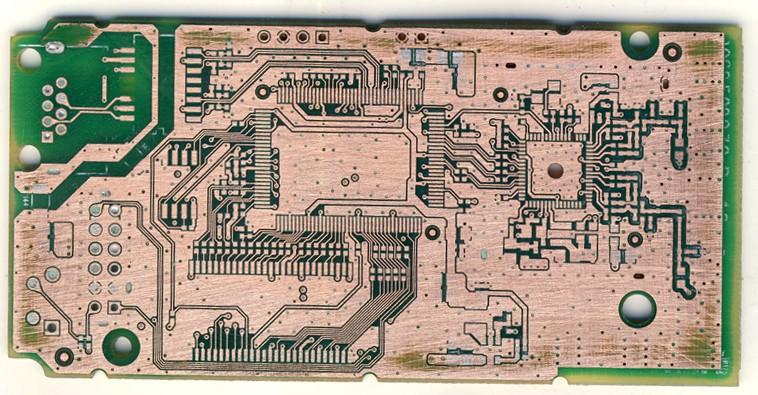 PCB抄板扫描图