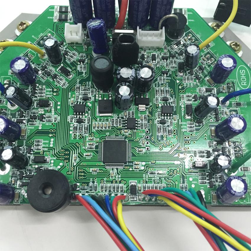 最新扭扭车控制板反向开发抄板解密方案