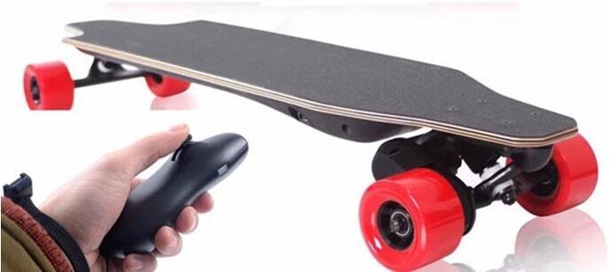 双驱电动四轮滑板车方案